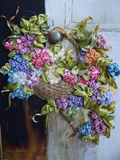 163 Best Images About Ribbon Embroidery On Pinterest Ribbon Embroidery Flower Garden