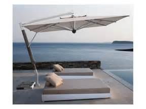 sonnenschirm terrasse sonnenschirm mit seitenarm f 252 r terrasse idfdesign