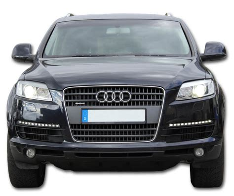 audi q7 led lights complete set led daytime running lights for audi q7 v12