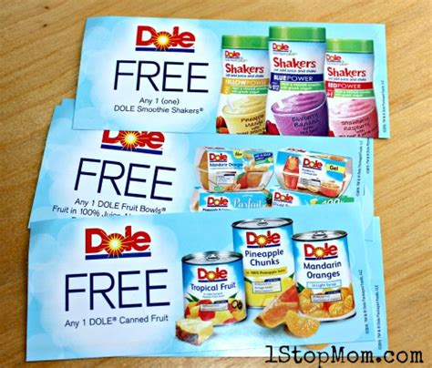 Coupon Giveaway - 1stopmom dole s soaring over paradise sweepstakes and a coupon giveaway 1stopmom