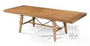 Solid Birch Dining Table Solid Birch Wood Lake House Dining Extension Table In Sand Finish