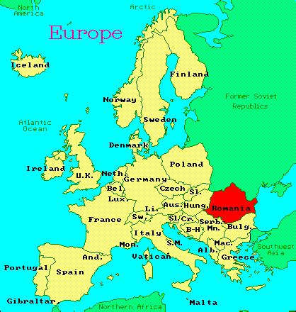 where is romania on a map maps map of europe romania