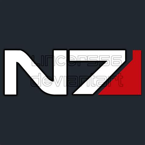 N7 Mass Effect mass effect n7 logo normal by lincer556 on deviantart
