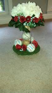 baseball wedding centerpieces pin by angie on angie bob s wedding in cape may