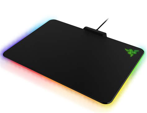 Mousepad Gaming Pro Gamer Da 400mmx450mmx4mm razer introduces the firefly gaming mousepad with customizable lighting fx techpowerup forums