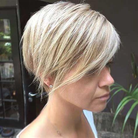 latest short blonde hairstyles  women short blonde