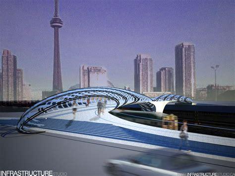 design competition bridge pedestrian bridge design competition vote spacing toronto