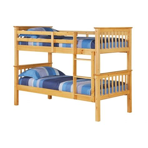 Cheap Bunk Bed Frames Cheap Heartlands Porto Pine Wooden Bunk Bed Frame For Sale At Discounted Prices