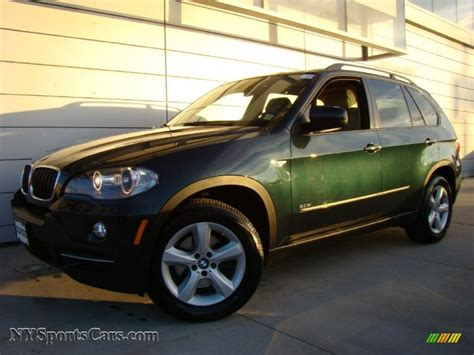 green bmw x5 2007 bmw x5 3 0si in green metallic 019128