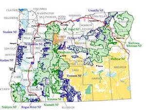 forest service maps oregon forest service january 2015
