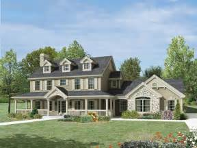House Plans With Front Porches by Milburn Manor Colonial House Plan Alp 09jf Chatham