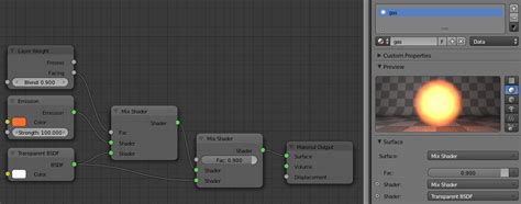 tutorial blender nodes glowing gas cycles nodes by bluex pl blender screenshots