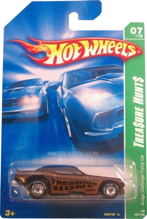 Hotwheels Dodge Challenger Car T Hunt dodge challenger car wheels 2008 treasure hunt hwtreasure