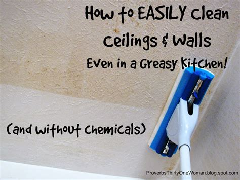 how to clean painted walls how to easily clean ceilings walls even in a greasy