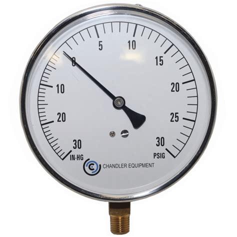 Vaccum Pressure standard vacuum pressure chandler equipment