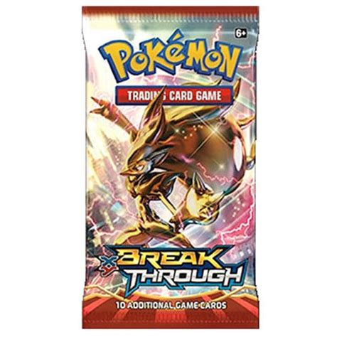 Gift Card Packs - xy breakthrough pokemon booster pack cards outlet