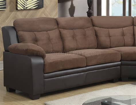 chocolate brown sectional u880015kd sectional sofa in chocolate brown by global