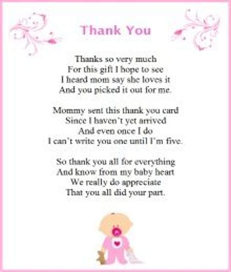 Baby Shower Thank You Poems From And by Baby Shower Thank You Poems From Unborn Baby Poem