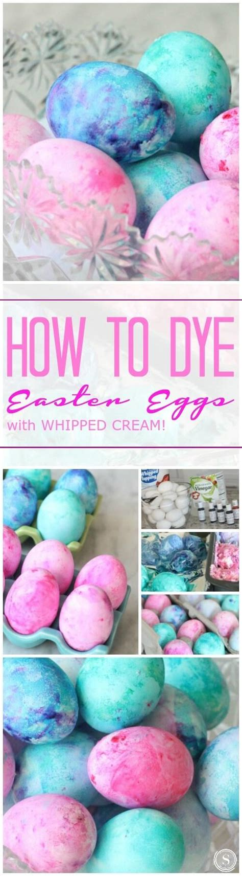 how to color easter eggs how to dye easter eggs with cool whip