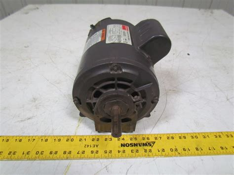 purpose of a start capacitor dayton 6k347d general purpose electric motor capacitor start 1hp 3450rpm 115 230 ebay