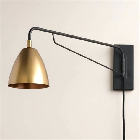 swing arm lights wall mounted task light swing arm l sconce lights