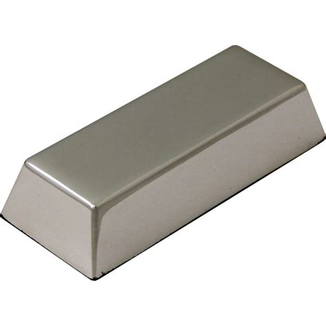 As Aluminium Diameter 102 X 100 Bar Solid Alumunium solid ingot desk paperweight in silver finish promotional personalised branded paperweights
