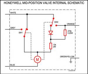 Mid Position Valve Diagram1 zone valve wiring diagram on central boiler thermostat wiring diagram