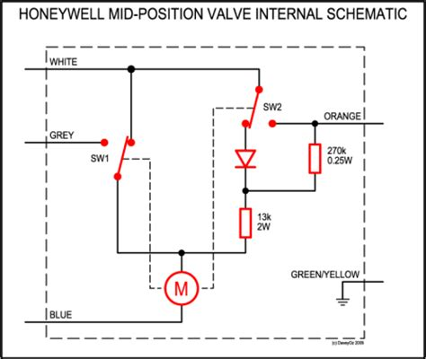 motorised valve wiring diagram honeywell motorized valve wiring diagrams get free image
