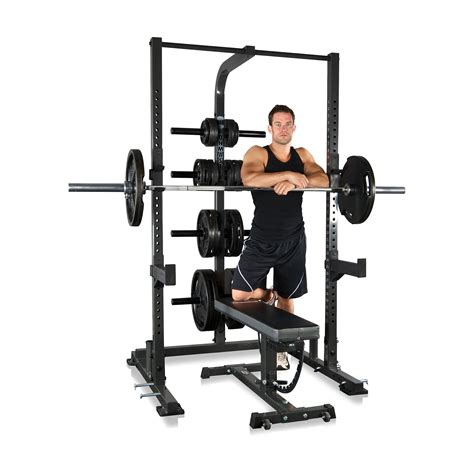 Weight Lifting Rack by Im1500 Half Rack Weight Lifting System Ironmaster Uk