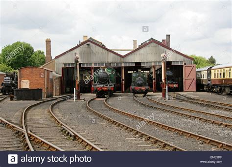 Gwr Engine Sheds locomotive sheds didcot railway centre and museum didcot stock photo royalty free image