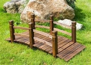 pont de jardin en bois neuf198 etang meuble