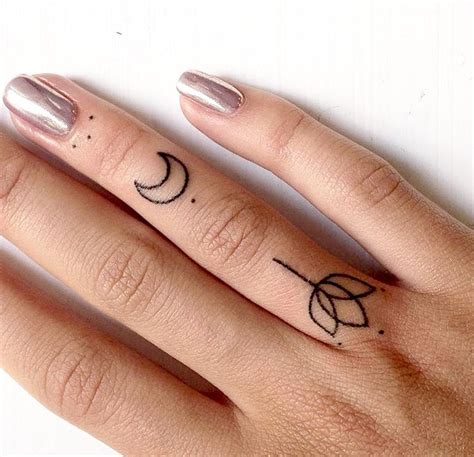 geometric tattoo finger geometric tattoo minimal geometric and dotwork finger