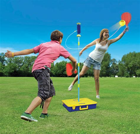 backyard tennis game garden games nrg amusements