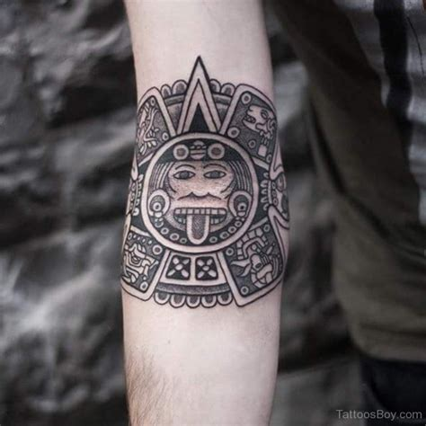 aztec tribal pattern tattoos aztec tattoos designs pictures