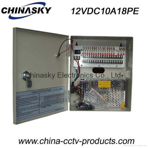 cctv power supply box 12v 10a18 channel with led