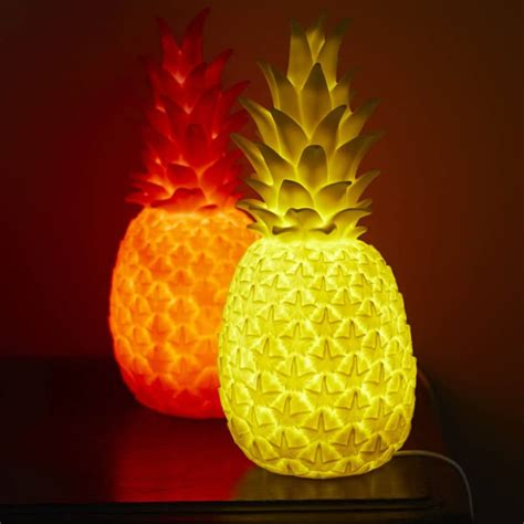 Led Chandelier Light Bulbs Luminous Pineapple Table Lamps Id Lights