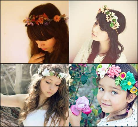 cara membuat gelang flower crown cara membuat flower crown newhairstylesformen2014 com