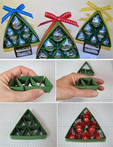 christmas gifts ideas wonderful diy sweet chocolate christmas tree gift