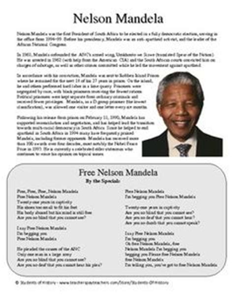 nelson mandela a biography pdf sciences humaines on pinterest continents geography and