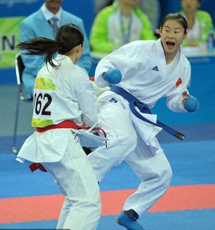 Jam Dinding Karater kliping para juara feng lanlan rebut emas karate kelas