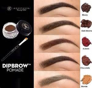 dipbrow colors beverly dipbrow pomade the other