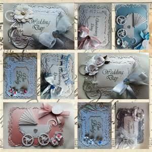 Handmade Die Cut Cards - handmade die cut centura pearl card toppers ebay