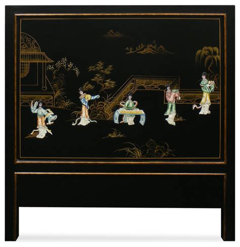 Pictures Of Painted Fireplaces by Hand Painted Scenery With Chinese Maiden Design Twin Size