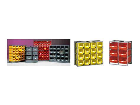 porta cassette scaffali porta cassette e contenitori plastica