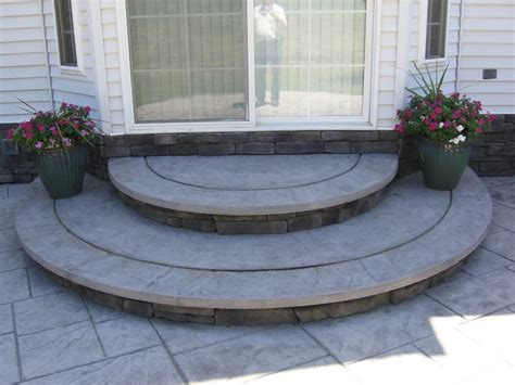 concrete patio steps concrete porch steps how to maintain your sted concrete patio or sidewalk backyard