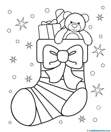 Excepcional Preescolar Navidad Para Colorear Páginas Gratis ...
