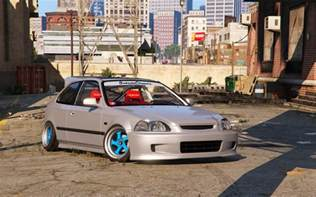honda civic ek9 stance tuning template gta5 mods