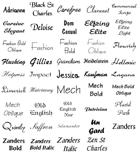 tattoo fonts of names fonts style villakajava