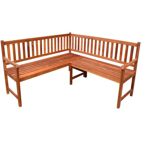 corner bench vidaxl co uk vidaxl garden corner bench acacia wood
