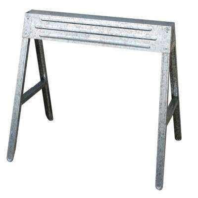 Null Steel Sawhorse Brackets Home Saw Horses Tool Storage The Home Depot